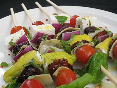 Greek appetizer salad