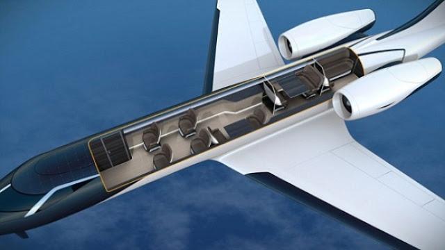 Transparent plane