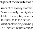What we learned from the new Kansas school finance study, and what it confirms that we already knew