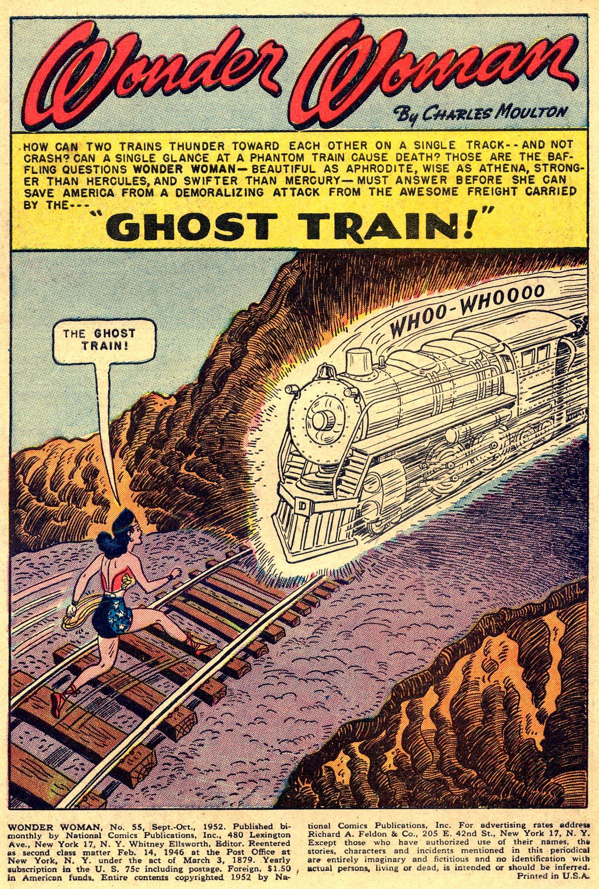 Read online Wonder Woman (1942) comic -  Issue #55 - 3