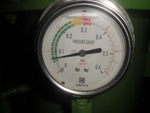 Chamber Pressure Gauge