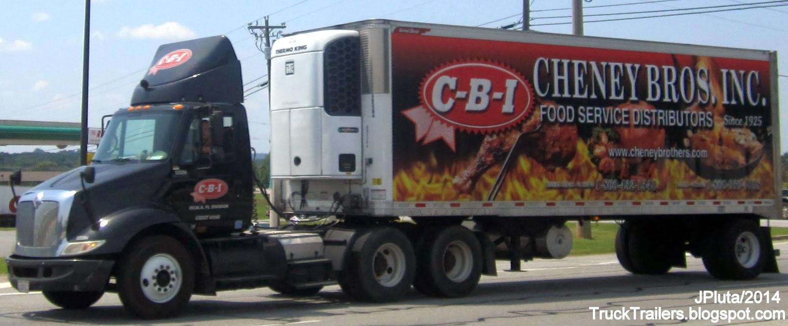 Refrigerated Food Delivery Van Service Florida