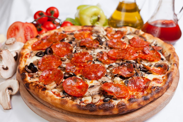 Reteta Pizza Diavola
