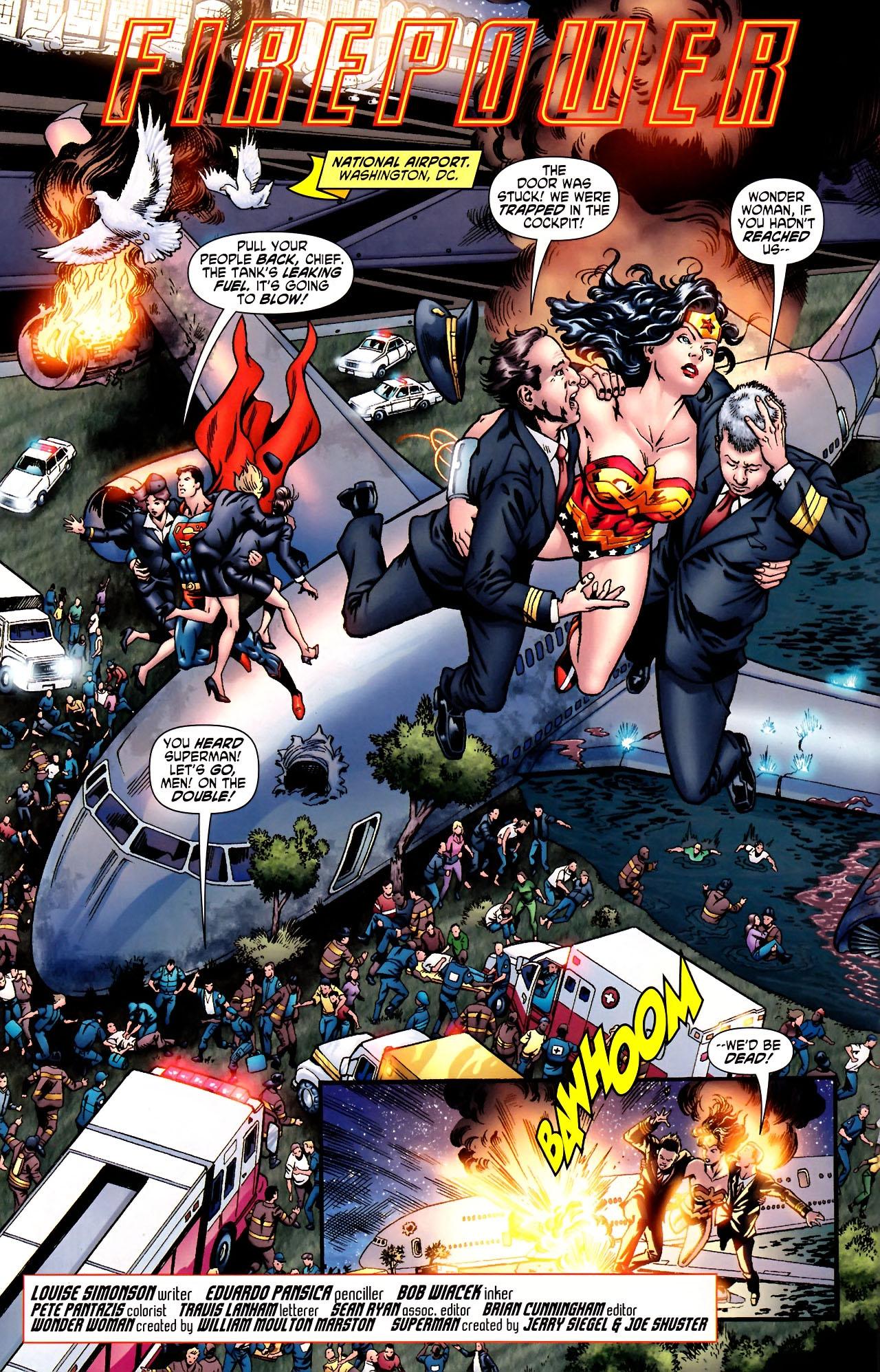 Read online Wonder Woman (2006) comic -  Issue #600 - 21