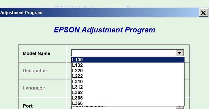adjustment program epson скачать бесплатно