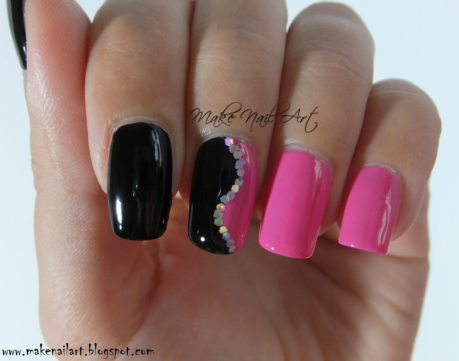 Two Colour Nail Designs Choice Image Easy Nail Designs For