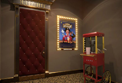 Golden Cinema Escape
