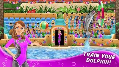 pada kesempatan kali ini admin akan membagikan sebuah game mod apk terbaru yang bergenre  My Dolphin Show v3.22.0 Mod Apk (Unlimited Money)