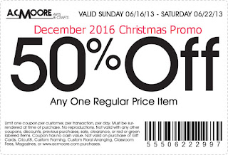 AC Moore coupons december 2016
