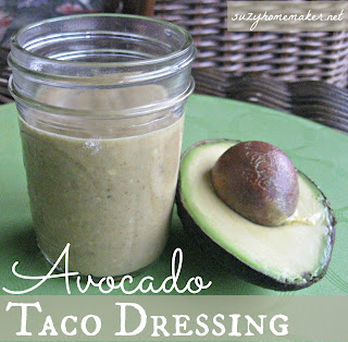 avocado taco dressing