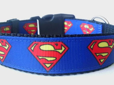 Superman Dog Collar
