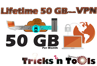 Get 50 GB Per Lifetime VPN For Free ! Free Proxy For Life