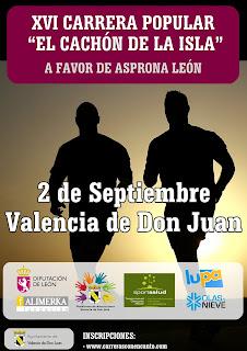 Carrera del Cachon Valencia de Don Juan 2017