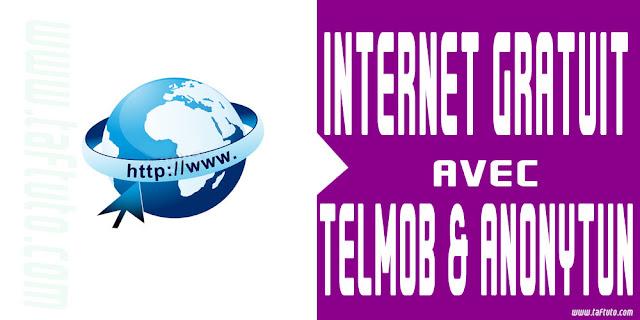 free surf telmob anonytun