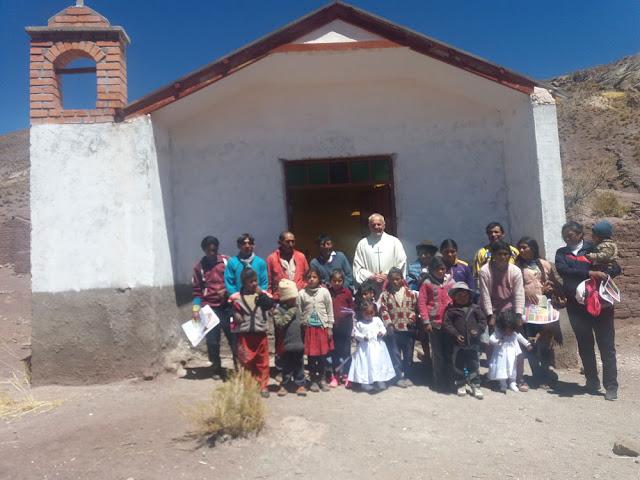 Gruppenbild nach dem Gottesdienst