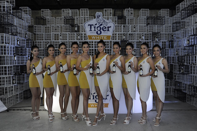 Tiger White brand ambassadors at the Coaster premiere held at Glasshouse at Seputeh on Dec 19.