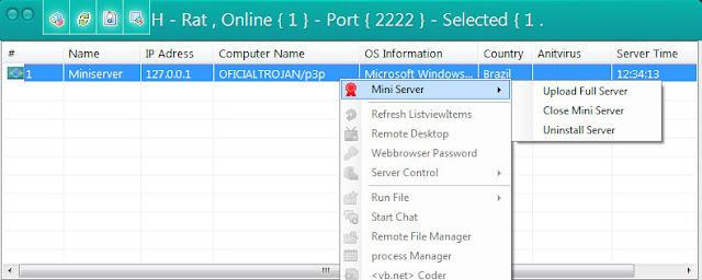 H - Remote Admin Tools v.5.2