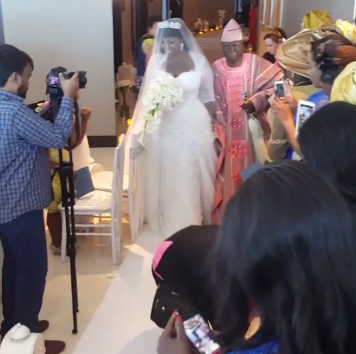 View of Tolu AKA Toolz & Tunde Demuren marriage pictures,4