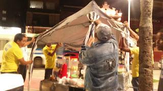 Ordenamento do comércio informal na nova orla do Rio Vermelho