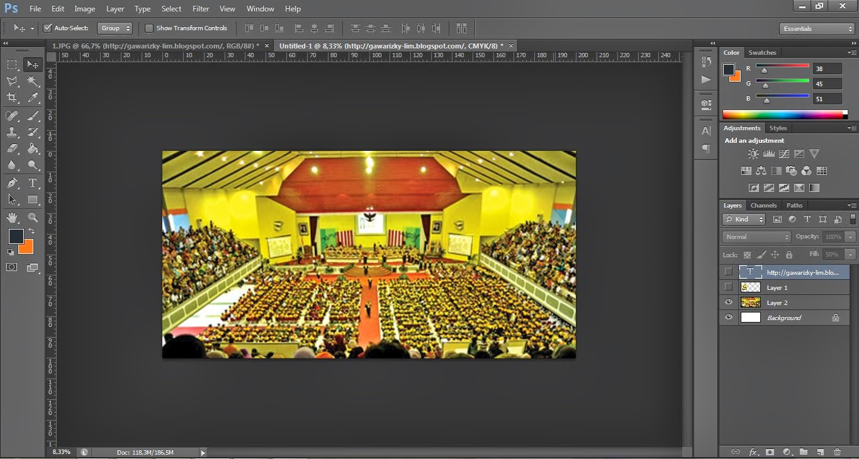 Mencoba Bercerita: TIPS Desain Banner dengan Photoshop