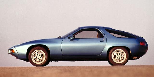 Porsche 928 1970s German classic sports car