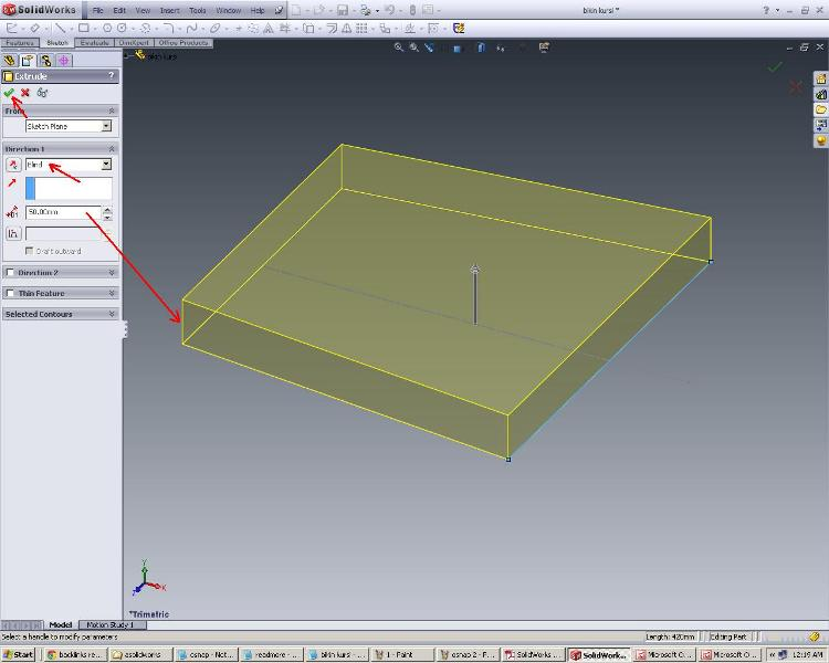 SOLIDWORKS DESIGN SIMPLE TUTORIAL Learn to make a chair