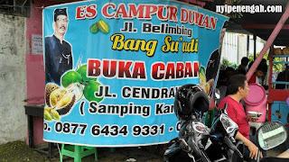 Es Campur Durian Kopyor