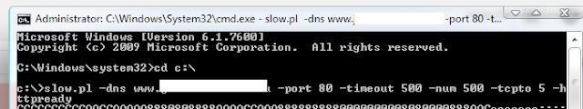 "Website Takedown with the ""Slowloris DoS Attack"""