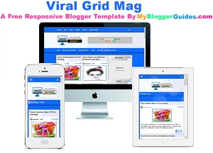 Viral Grid-Mag, Free Blogger Template, Responsive Blogger Template, Professional Blogger Template, Gridy Blogger Template, Magazine Blogger Template