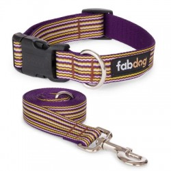 PURPLE THIN STRIPE COLLARS