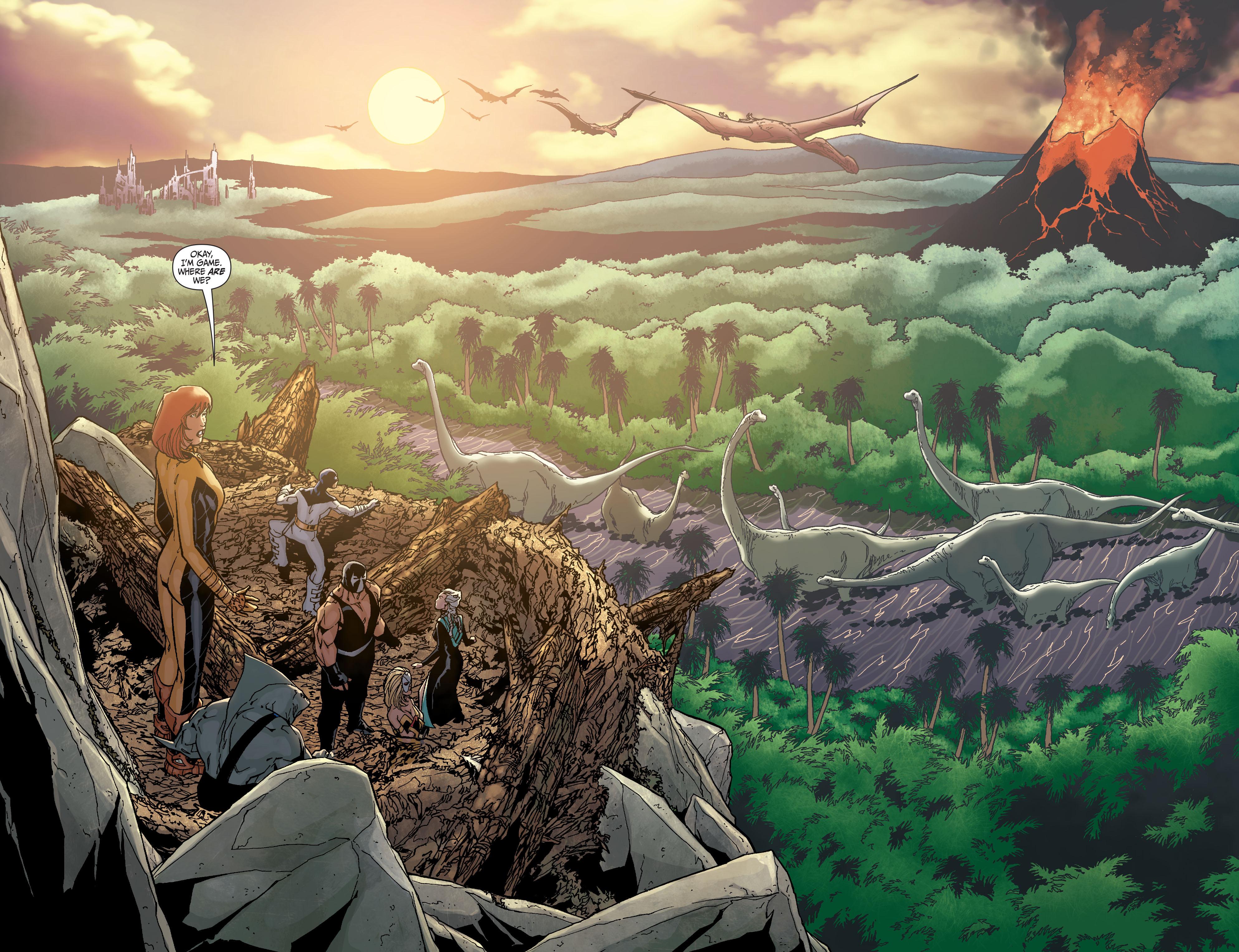Read online Secret Six (2008) comic -  Issue #25 - 16