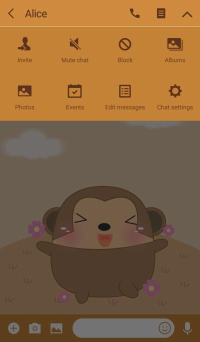 Happy Cute Fat Monkey Theme(jp)