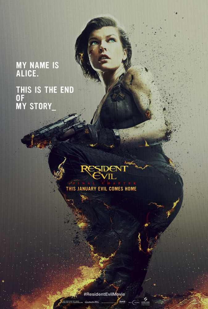 Resident Evil The Final Chapter 2016 Dual Audio