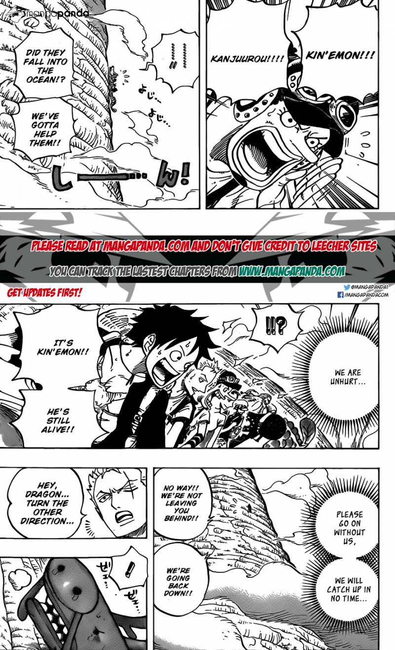 One Piece Ch 804: An Adventure on the Back of an Elephant