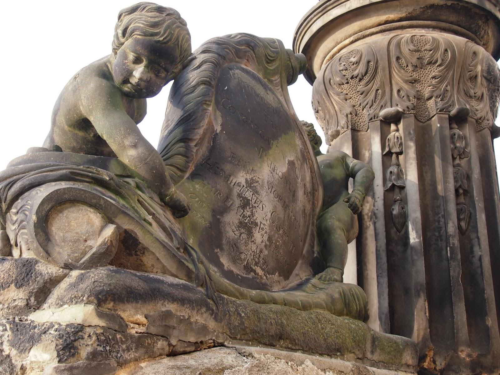 A Statue at the Prague Castle