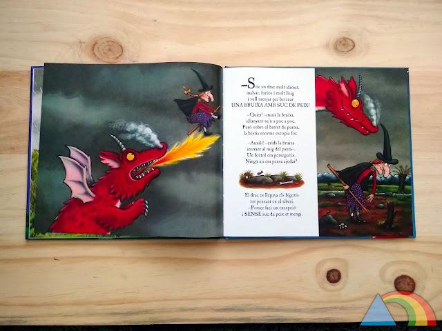 Interior del libro ¡Cómo mola tu escoba!