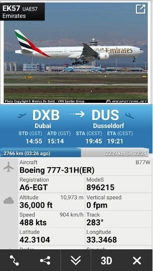 Flightradar24 – Flight Tracker APK 6.7.1 Free Terbaru