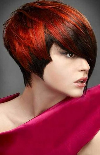 Red and Short Hairstyles for Women of Color - Women Hairstyles
