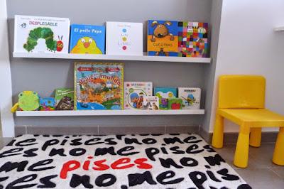 Rincón de lectura Montessori