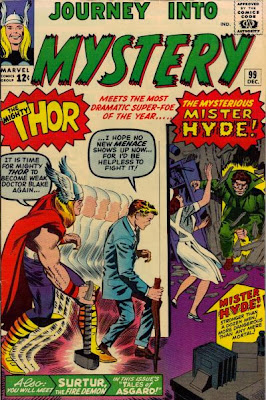 Journey Into Mystery #99, Thor v Mr Hyde