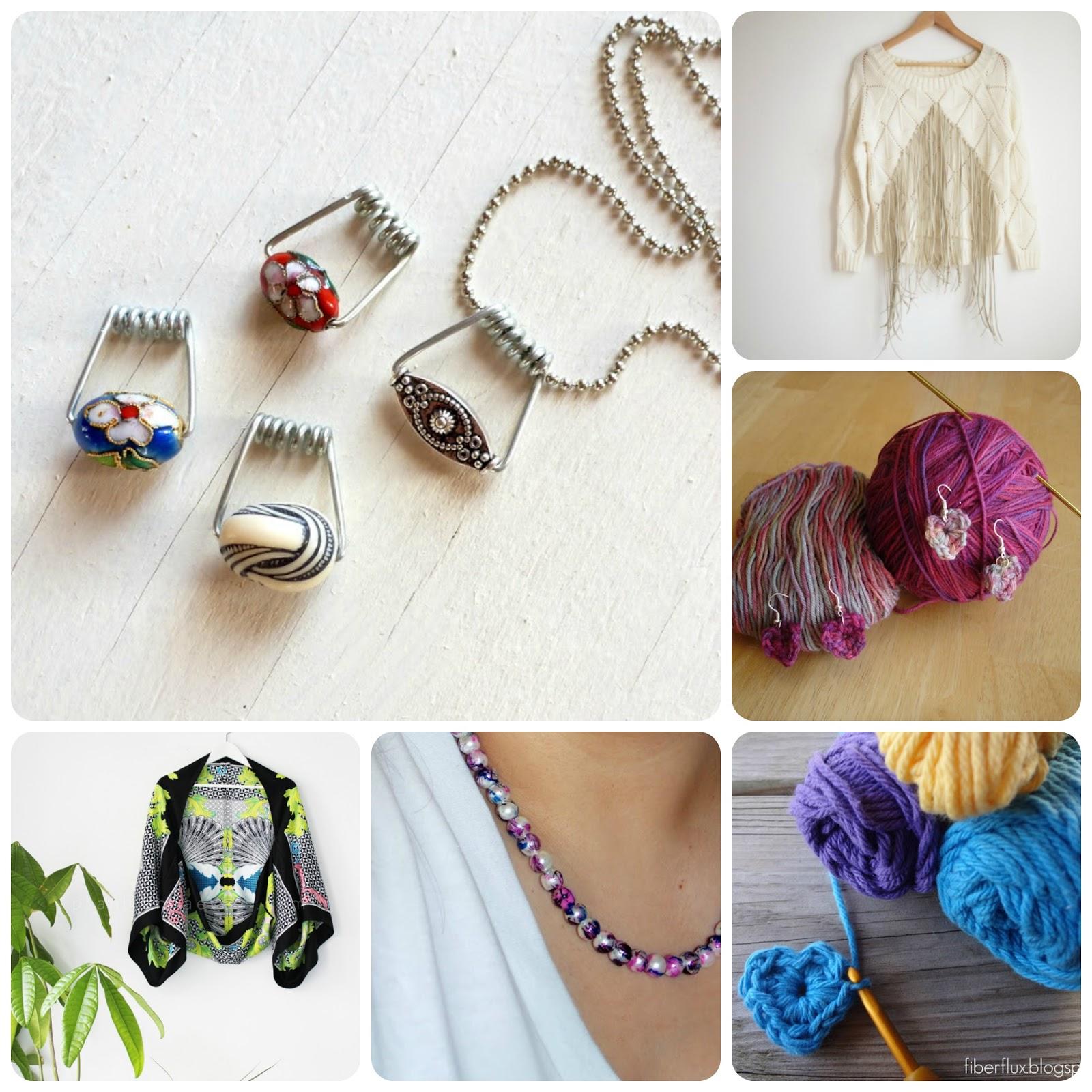 manualidades, diys, crochet, costura, bisutería