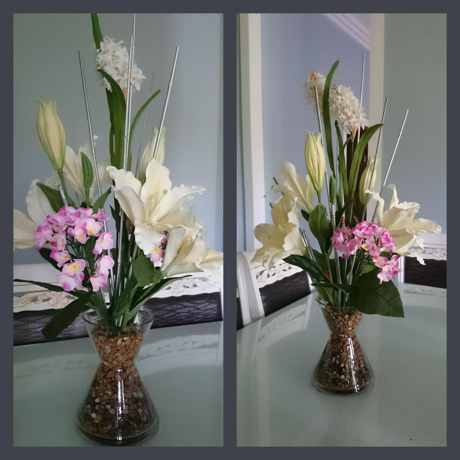 Kembara Minda 7 Gubahan Bunga Untuk Meja Makan