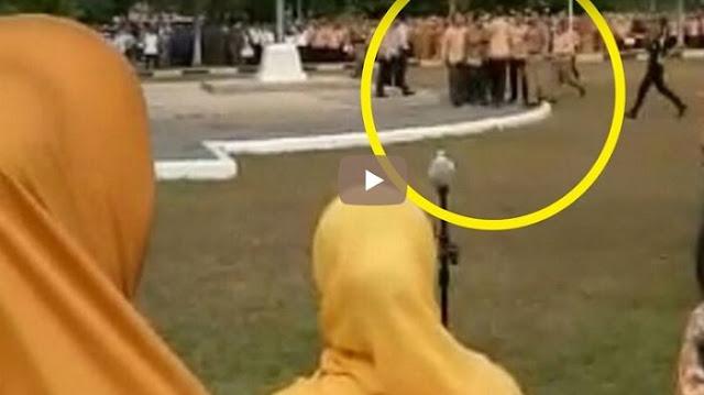 Alasan Komandan Upacara Tiba-tiba Tantang Duel Wali Kota Prabumulih Sumsel saat Memimpin Apel