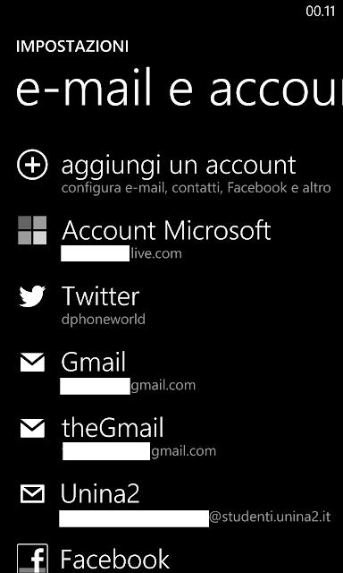 Come impostare la frequenza di sincronizzazione delle e-mail sui Nokia Lumia