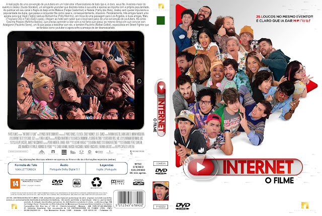 Capa DVD Internet O Filme [Exclusiva]
