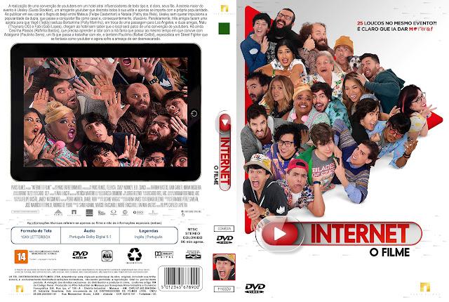 Capa DVD Internet O Filme [Exclusiva]