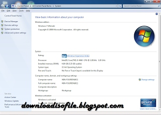 Download ISO File Windows 7 Tiny ISO Windows XP Service Pack 3 ISO