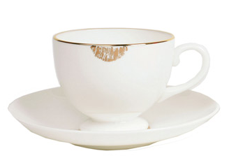 Gold Kiss Tea Cup from Reiko Kaneko