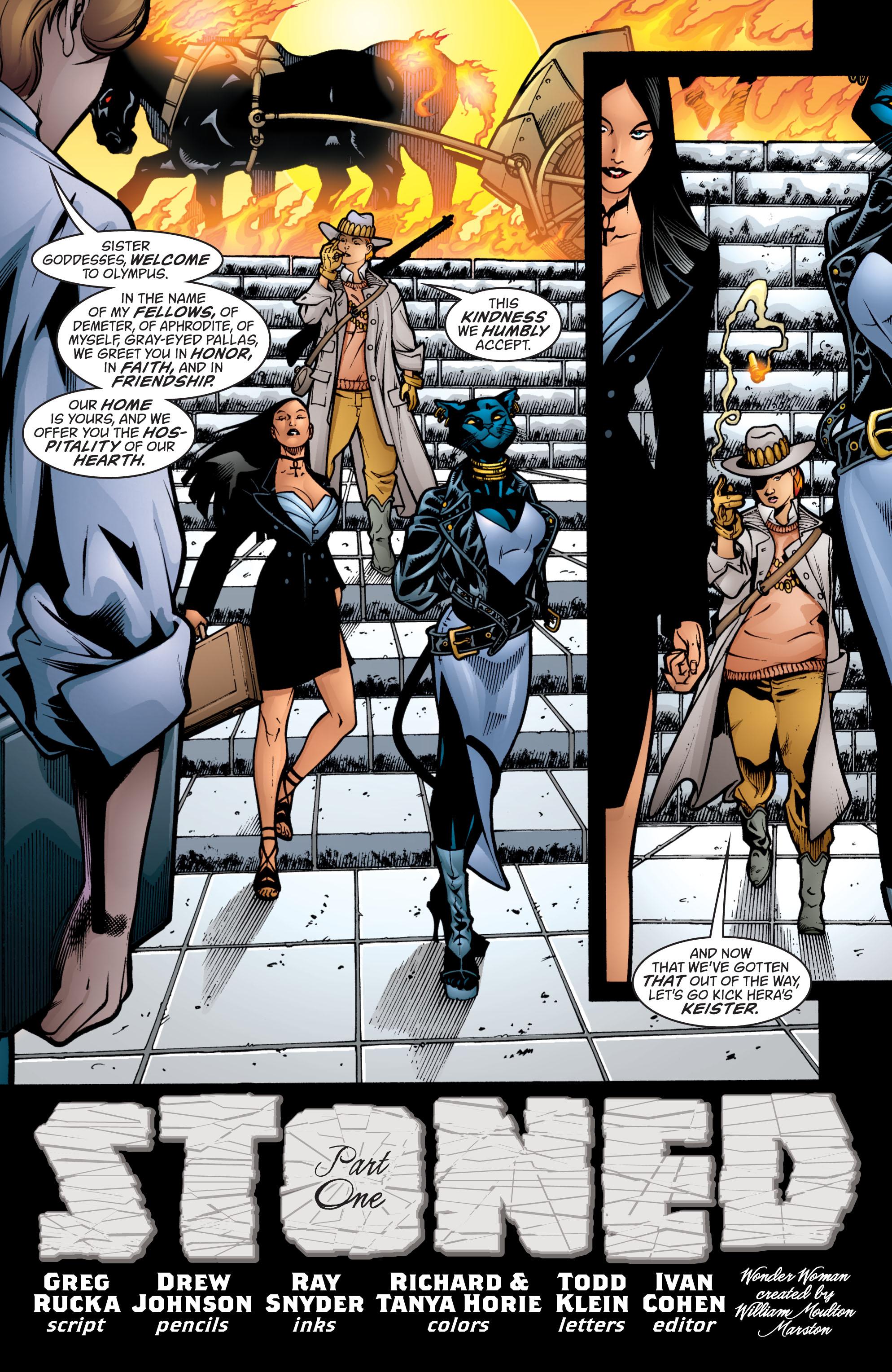 Read online Wonder Woman (1987) comic -  Issue #206 - 3