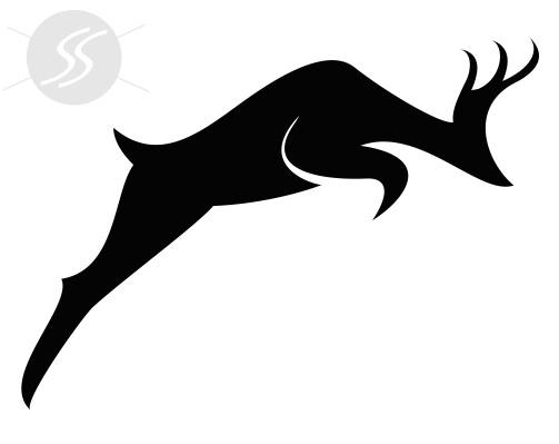 adesivos decorativos animais veado - 20 Adesivos decorativos de animais para decorar o seu ambiente